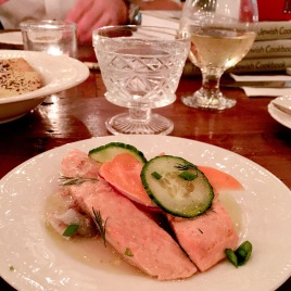 Salmon in Aspic served at Gravy.